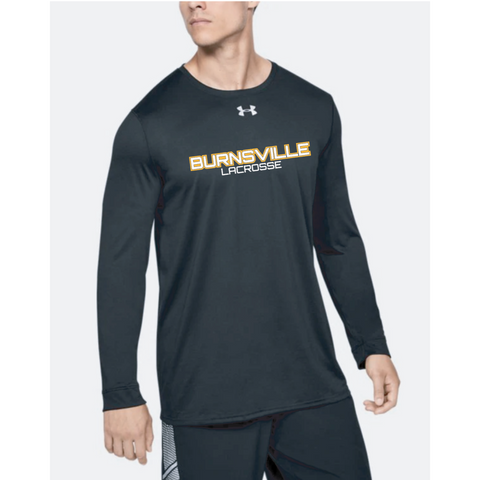 Burnsville Lacrosse Adult Under Armour (Locker Tee 2.0 LS) Black