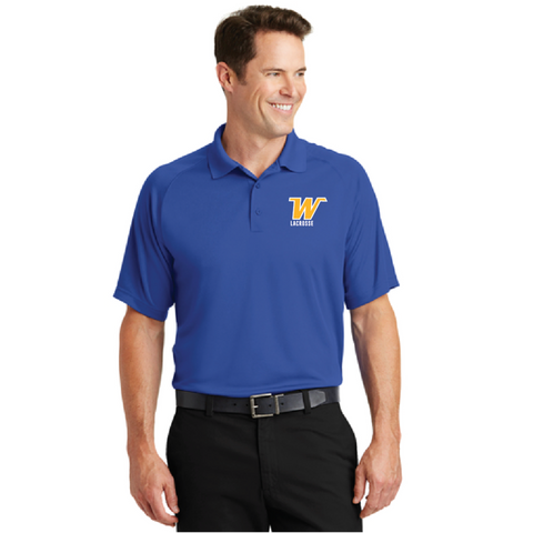 Wayazta Lacrosse Men's Sport-Tek® (Dry Zone® Raglan Polo) Royal