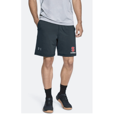 "Stillwater Lacrosse Men's Under Armour (Raid 8"" Shorts) Black"