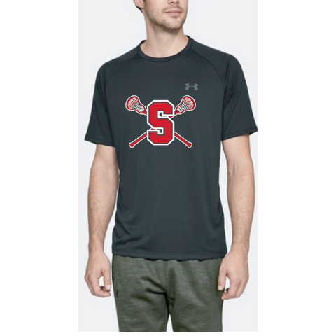 Stillwater Lacrosse Adult Under Armour (Tech Tee) Black