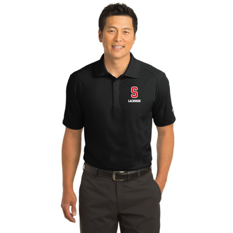 Stillwater Lacrosse Men's Nike (Dri-FIT Classic Polo) Black
