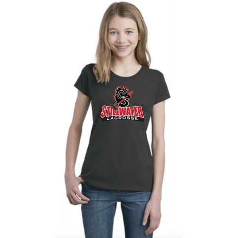 Stillwater Lacrosse Youth District (Very Important Tee) Black