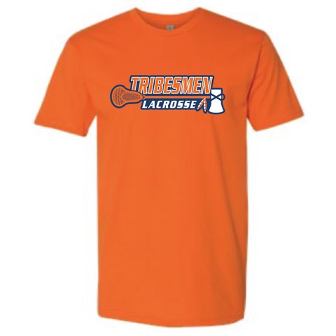 Tribesmen Lacrosse Adult Next Level (Premium SS Crew) Orange