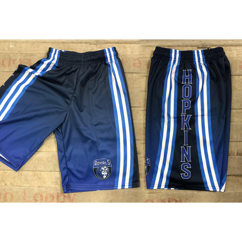 Hopkins Basketball Game Shorts