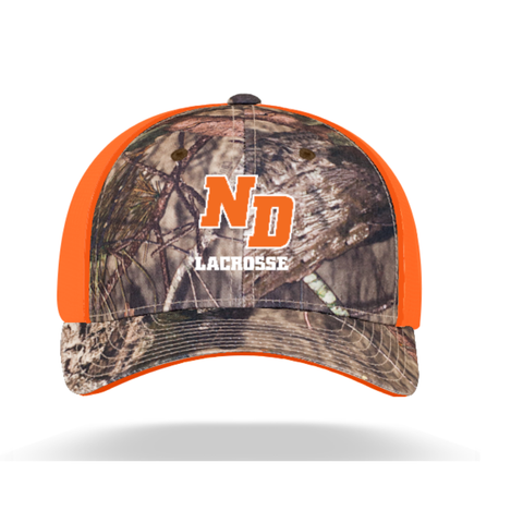 ND Lacrosse Pacific Headwear (TRUCKER MESH) Camo