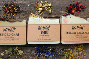 2021 Limited Edition Garden Tea Party Collection - Handcrafted Artisan Rough Cut Soap