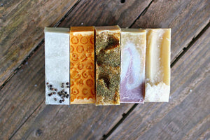 Any 5 All Natural Soaps