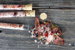 Handcrafted All Natural Blush Bath Salts