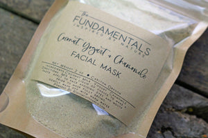 Coconut Yogurt Chamomile Facial Mask