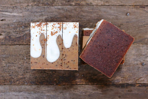 Coffee Cake Handcrafted Soap