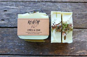 Cypress and Cedar Handcrafted Artisan Soap