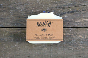 Grapefruit Basil Handcrafted Artisan Soap