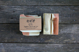 Tangerine Thyme and Lime Cold Process Soap