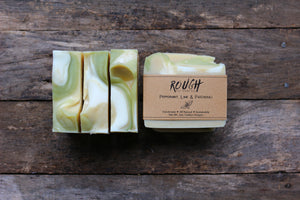SALE - Peppermint, Lime & Patchouli  Cold Process Soap