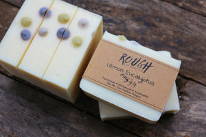 SALE - Lemon Eucalyptus Cold Process Soap