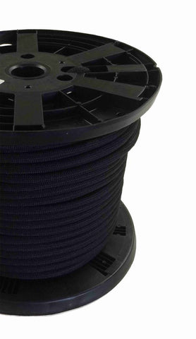 "3/8"" - #12 - Black Shock Cord - 300' Spool"