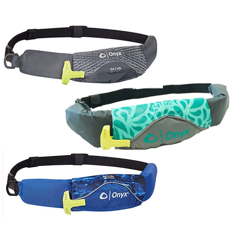 Onyx M-16 Reduced Profile Inflatable Belt Pack Life Jacket (PFD)
