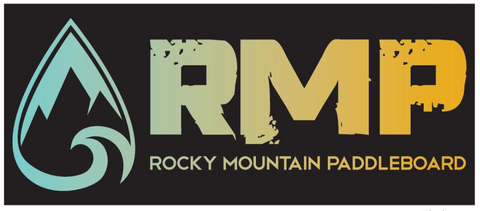 RMP Full Logo Rectangle Stickers