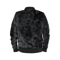 BLACK CAMO WATERPROOF BOMBER