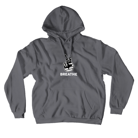 BLACK & WHITE PEACE  / Hoodies (No-Zip/Pullover)