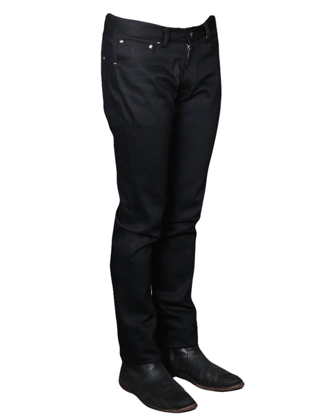BILLY 18 // BLACK Men's Denim Jeans By Robert James