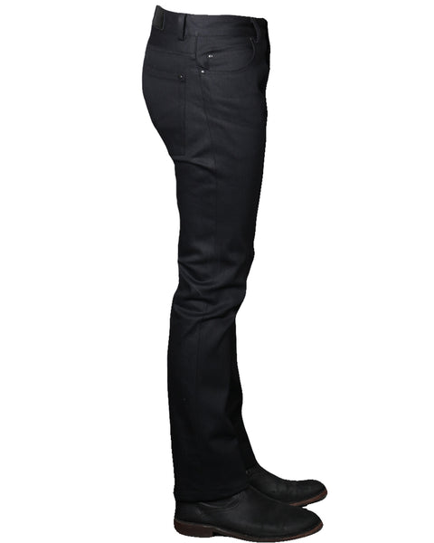 WESTERN 18 // BLACK Men's Denim Jeans By Robert James