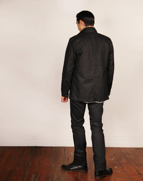 WAX 65 // BLACK WAX Men's Jacket By Robert James
