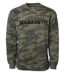 BRJ CAMO MAGADETH // CRAFT SWEATSHIRT
