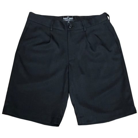 DECK SWIM SHORT 19  // BLACK Men's Swim Shorts By Robert James