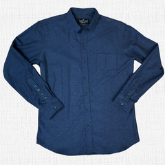 DYLAN-  NAVY FLANNEL SHIRT