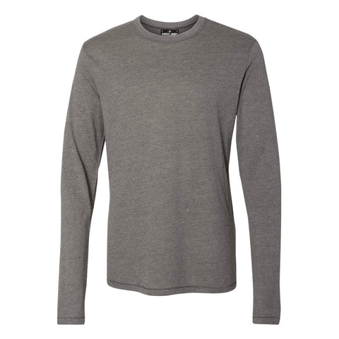 BRJ FLINT // CHARCOAL Long Sleeve T-Shirt Men