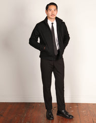 GRAND WORK JACKET // BLACK WOOL Men's Jacket By Robert James