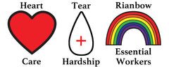 HEART & TEAR GRAPHIC ELEMENTS