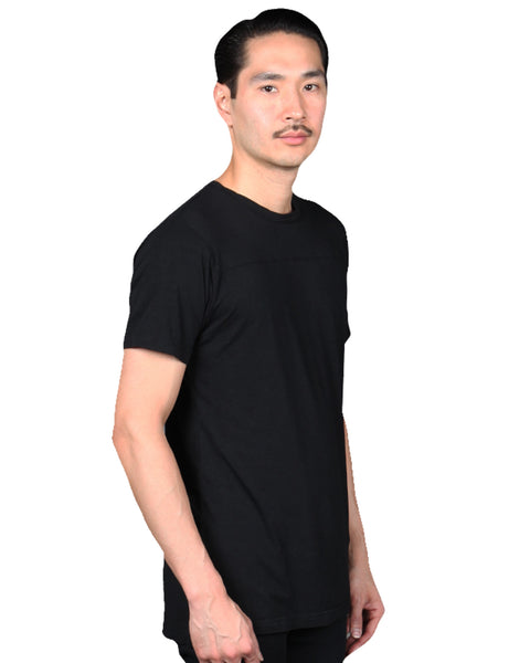 HOFFMAN 19 - BLACK  Men's Knit T-Shirt By Robert James