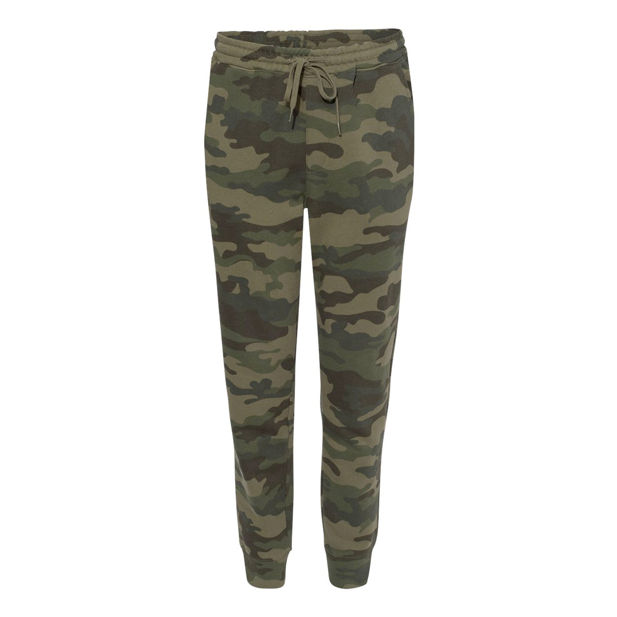 LEAD PIPE JOGGERS / DEEP FOREST CAMO French Terry Knit Joggers By Robert James