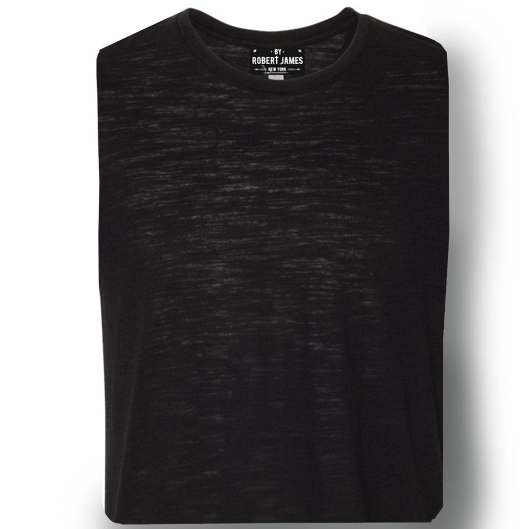 3 PACK BACK IN BLACK -  Men's Knit T-Shirts / By Robert James