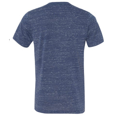 THE MAX FLECK TEE - Navy White  Marble Men's Knit T-Shirt By Robert James
