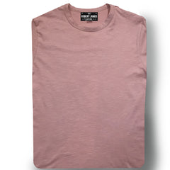 THE COLEMAN SLUB TEE -PINK SLUB Men's Knit T-Shirt By Robert James