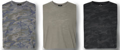 3 PACK MILITARY MAX -  Men's Knit T-Shirts / By Robert James