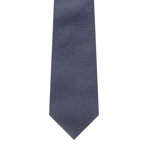 BRJ // NAVY JACQUARD TIE Men's Ties By Robert James