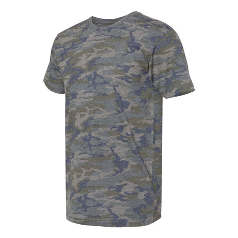 THE MAX TEE - Olive Navy Camo Men's Knit T-Shirt By Robert James