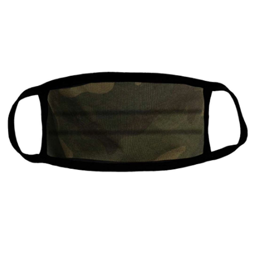 USA MADE Comfort Cotton / Face Mask - CAMO