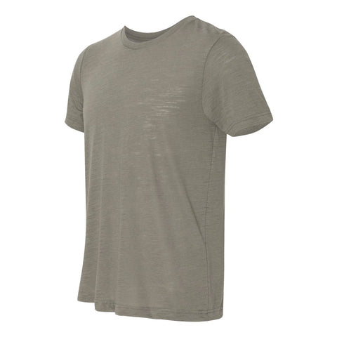 THE MAX SLUB TEE - Olive Slub Men's Knit T-Shirt By Robert James