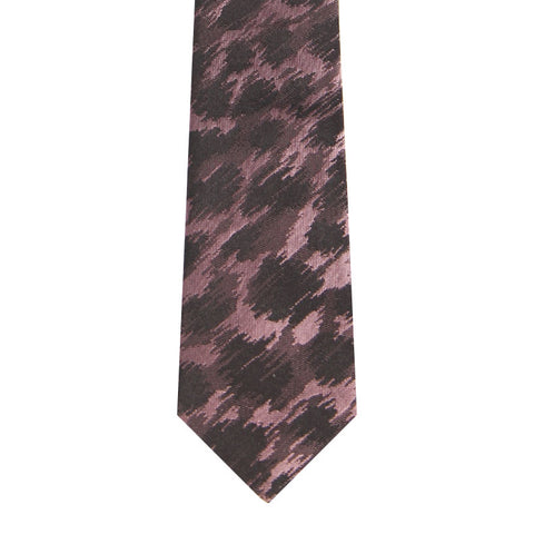 BRJ // DUSTY PINK LEOPARD TIE Men's Ties By Robert James