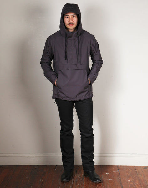 STORMBREAKER ANORAK // CHARCOAL Men's Jacket By Robert James