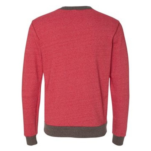 SOHO SWEATSHIRT - RED French Terry Men's Knit Crew By Robert James
