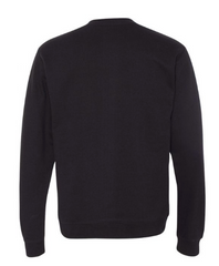 BRJ ESSEX // BLACK Midweight Crewneck Sweatshirt Men's Knit By Robert James