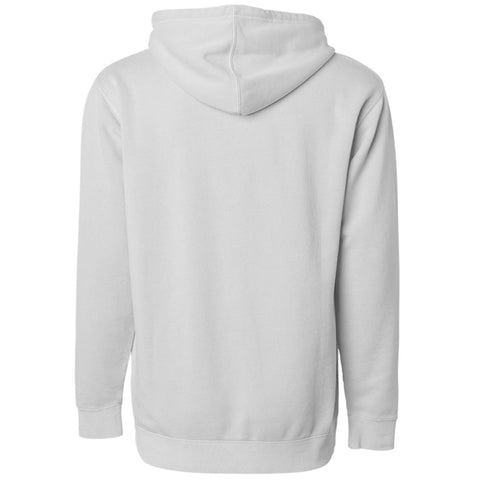 THE CLIFFORD PIGMENT DYED PULL OVER HOODIE - BONE WHITE Men's Knit T-Shirt By Robert James