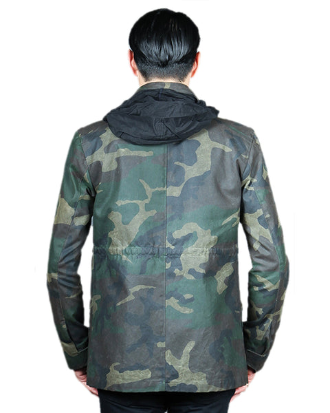 WAX 65 // CAMO WAX Men's Jacket By Robert James