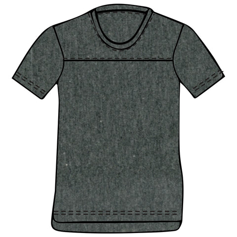 HOFFMAN 19 - PEPPER HEATHER Men's Jersey T-Shirt By Robert James